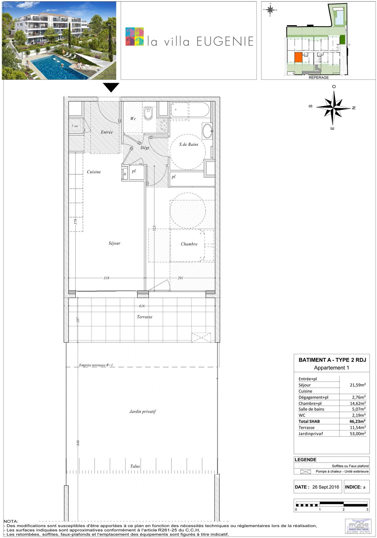 Visite 3d de l 39 appartement neuf 3 en vente marseille for Projet appartement neuf